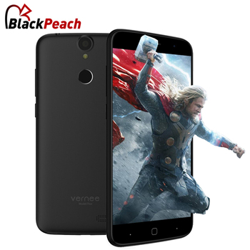 Vernee Thor 4G Mobile Téléphone 5.0 pouce HD 1280x720 MTK6753 Octa Core Android 6.0 3 GB RAM 16 GB ROM 13MP Cam D'empreintes Digitales Smartphone