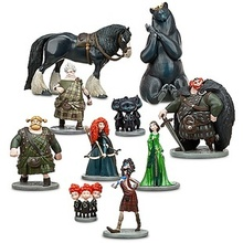 10pcs/set Movie Brave Merida Toy PVC action figure doll for kids gift