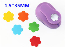 38mm Embossing device Flowers paper cutter crafts scrapbook kid child craft tool diy hole punches cortador de papel S2934-6(China)