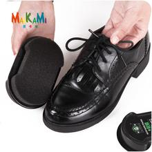 1pcs Multifunctional Double-Faced Shoe Polish Colorless Light Shoes Rub Leather Care Oil Sponge Shoe Wax Black Shoes Brush(China)