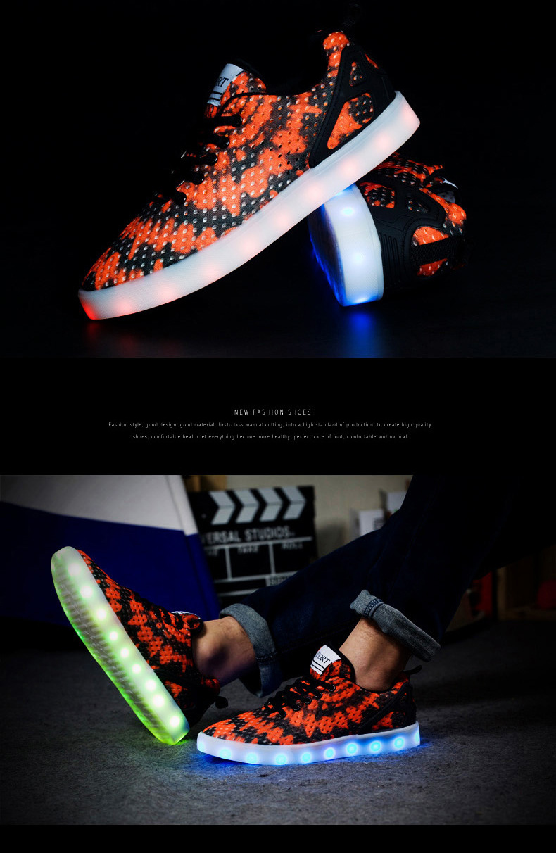 Led Sneakers Honeycomb 1