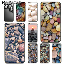 MaiYaCa Many stones-colorful pebbles fashion design skin thin pc cell Case for iPhone 8 7 6 6S Plus X 10 5 5S SE 5C Coque Shell(China)