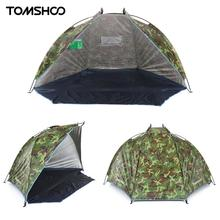 TOMSHOO Camping Tent UV Protection Beach Tents Summer Tent Outdoor Sports Sunshade Tent for Fishing Picnic Beach Park