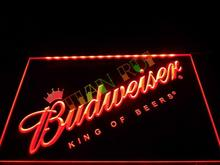 LA002- Budweiser Beer Bar Pub Club NEW   LED Neon Light Sign    home decor shop crafts