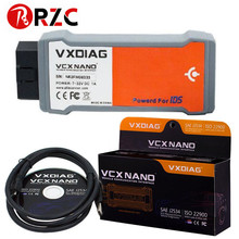 2017 Newest VXDIAG VCX NANO for Ford/Mazda 2 in 1 with IDS V104 v101 Better Than VCM II FOR FORD in stock