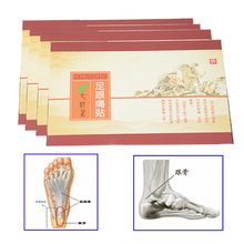 4Pcs Heel Spur Pain Relief Patch Herbal Calcaneal Spur Rapid Heel Pain Relief Patch Achilles Tendinitis Foot Massage Z32404(China)
