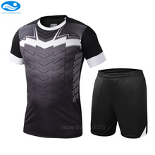 College soccer uniforms custom Soccer Jerseys Men Survetement Football Kits Quality Team Sportswear maillot de foot training set