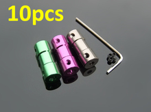 Buy 10pcs Coupler motor shaft connector joint RC Boat models 3mm 4mm 2.3mm 3.17mm 5mm Anodized aluminium alloy coupler for $11.49 in AliExpress store