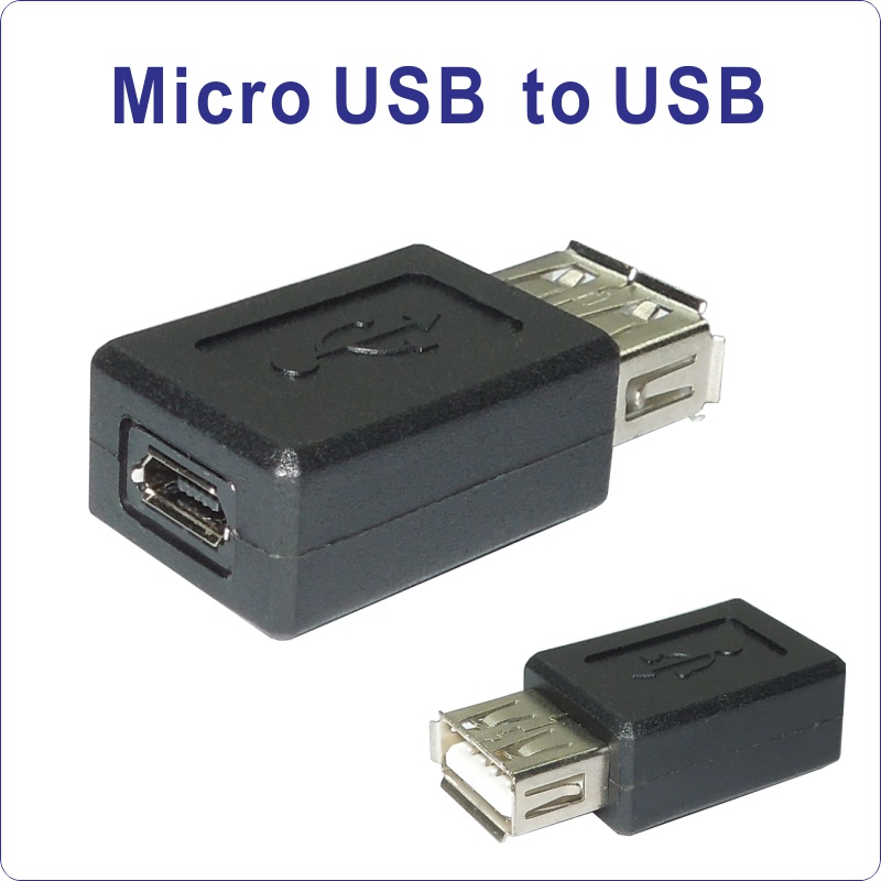 USB_MicroUSB to USB Female