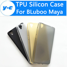 For BLuboo Maya Case Hot Selling 100%  Matte TPU Silicon Back Protective Case Cover For BLuboo Maya 5.5 Inch Mobile Phone