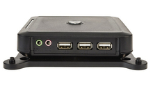 Thin Client N380 PC Station with RDP 7.0  WIN CE 6.0 OS   Support Windows 7 extend 1-100 user  128M RAM