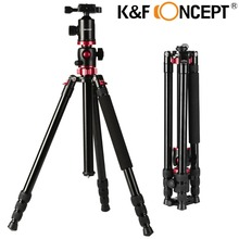 K&F CONCEPT Camera Tripod KF-TM2534T Lightweight 2-Sections Monopod with Ball Head Flexible Tripod for Sony/Nikon/Canon DSLR(China)