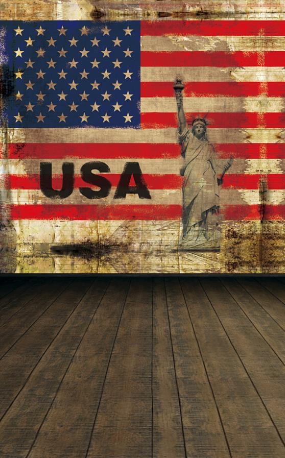 photography backdrops 200*150cm(6.5*5ft) Flag Athena old age brick wall backdrop<br>