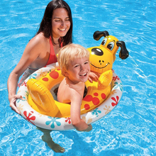 Cute Cartoon Animal Shape Children's Inflatable Seat Float Rings Portable Kids' PVC Seat Float Boat Baby Swimming Accessory A008