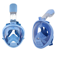 Kids Full Face Snorkeling Diving Mask Children Size Anti Fog Snorkel Sucba Study Swimming Equipment mergulho Boy Girl Masker(China)