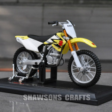 DIECAST MODEL TOYS MAISTO 1:18 SUZUKI RM-Z 250 SX DIRT BIKE MINIATURE MOTORCYCLE REPLICA(China)