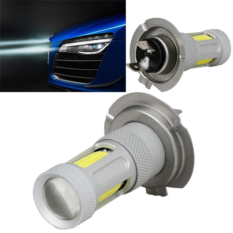 1x H7 High Power COB LED Car Fog HeadLight Driving Lamp DRL Bulb White 80W<br><br>Aliexpress