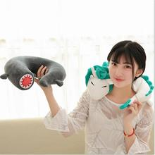 new 35cm/32cm Creative white Chinese dragon Plush Toys Dinosaur cloth doll gray doll neck pillow cushion stuffed plush baby gift