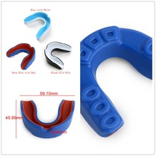 Shock Sports  Mouthguard Mouth Guard Teeth Protect for Boxing Basketball Top Grade Gum Shield Factory Direct Sales Teeth helmet