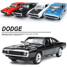 Hot Sale Dodge Charger 1:32 alloy Wholesale car modesl four door open mustang GT children's toycar metal models