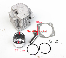 47cc 49cc Pocket Bike Cylinder Kit 40mm Bore for 2 Stroke Gas Scooter Mini Pocket Bike free shipping