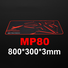 FANTECH MP80 Gaming Mouse Pad Gel Mouse Pad Locking Edge Smooth Mouse Mat Speed Version for LOL Dota2 Diablo 3 CS Mousepad