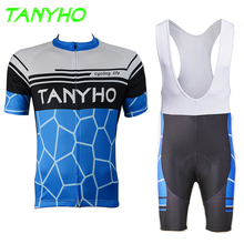 Sport Men Pro Cheap Cycle Cycling Jersey MTB Bike Bicycle Clothing Shirt brand Ropa Ciclismo Bicicleta Maillot Roupas Suit Set(China)