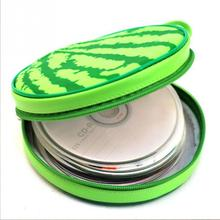 2017 Fashion Watermelon Shape CD DVD Case Storage Faux Leather CD case