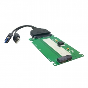 USB 3.0 to SATA 22pin 2.5 Hard Disk &amp; SATA to Macbook A1425 A1398 MC975 MC976 MD212 MD213 ME662 ME664 ME665 SSD hard disk case<br>