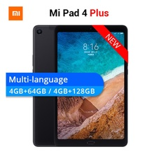 "Оригинальный Xiaomi mi Pad 4 плюс mi Pad 4 10,1 ""PC планшет Snapdragon 660 Octa Core Face ID 1920x1200 13.0MP + 5.0MP 4G планшет Android(China)"