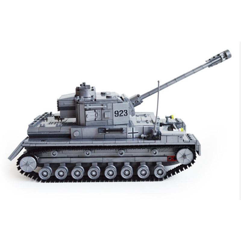 1193pcs Tank Large Military Tanks Building Blocks 82010 Toys For Children tank Bricks Educational Bricks Toy Kids Birthday Gift<br>