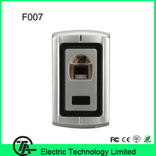 1000 users fingerprint door lock system fingerprint and smart card access control panel system F007
