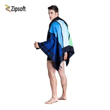 Zipsoft Large Beach towel 90*170cm travel body towel compact antibacterial quick dry water absorbent Yoga Mat Towels for Adults(China)