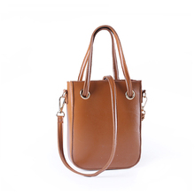 Daunavia PU Leather Top-handle Women Handbag Fashion Solid Ladies Lether Shoulder Bag Casual Large Capacity Tote Crossbody Bags(China)