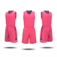 Kid hot sale custom Basketball Jersey Set With Shorts youth Sport Training Basketball Suits free shipping 1009(China)