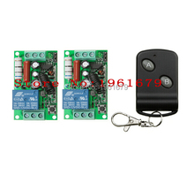 RF Wireless Remote Control   AC 220 V  10 A  1 channel    2  Receiver  +1 Transmitter   Learning code  simple  operation