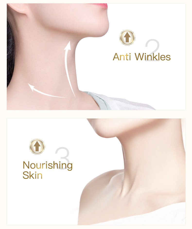 100g Six Peptides Neck Cream Anti Wrinkle Remove Neck Mask Whitening Firming for Neck Skin Care Delicate and Slippery 8