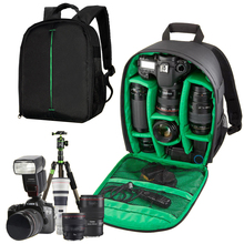 Red Green Orange Waterproof Multifunctional Digital DSLR Camera Video Bag Small SLR Camera Bag For Nikon Canon