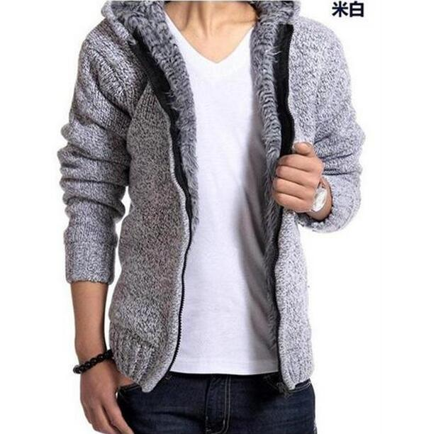 TG6043Cheap wholesale 2018 new winter velvet thickening hooded cotton-padded clothes long men jacket