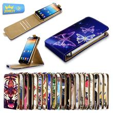 For Lenovo A516 A526 A706 A760 Universal High Quality Printed Flip PU Leather Cell Phones Case Cover Middle Size(China)