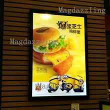 Slim LED Lighted Up Menu Board A2 Aluminum Clip Frame Restaurant LED Menu Signs Advertising Light Box(China)