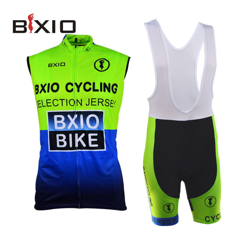 Pro Team Cycling Jersey Set Fluorescence Cycle Cloth Sleeveless Quick Dry Racing Bike Clothes Polyester Summer Ropa Ciclismo 004<br><br>Aliexpress