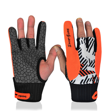 New Real Professional Anti-skid Bowling Bloves Comfortable Accessories Semi-finger Instruments Sports Gloves Mittens(China)