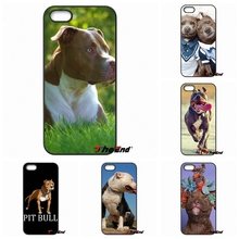 For Huawei Ascend Y5 Y6 P6 P7 P8 P9 Lite Honor 4C 5C 6 4X 5X G8 Mate 7 8 9 Cute and Lovely Dog Pitbull Hard Phone Case Cover