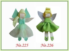 free shipping 100pcs character hair bows(people) sculpture hair clips style boutique hair bow girl bug bows(China)