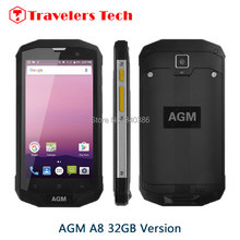 "Original AGM A8 IP68 Waterproof Shockproof Rugged Smartphone 3GB RAM NFC Android 7.0 Dual SIM 5"" IPS 4G LTE 4050mAh AGM X1 Phone"