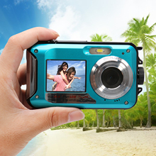 Hot Waterproof Digital Camera 24MP MAX 1080P Double Screen 16x Digital Zoom Camcorder High quality