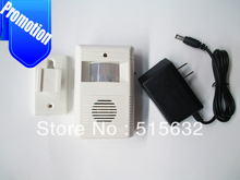 Wireless visitor Customer door chime 8 Tune melodies Entry Alert Alarm Doorbell wiht retail box(China)