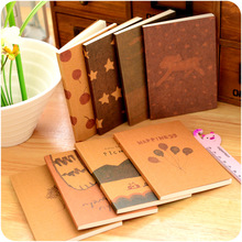 New 2016 Retro Old Syle Pocket Book Journal Dairy Memo Book Notebook For Kids Planner Book Students School Supplies Materials