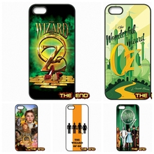 The Wizard Of Oz poster art TPU Hard Phone Case Cover For iPhone 4 4S 5 5C SE 6 6S 7 Plus Galaxy J5 A5 A3 S5 S7 S6 Edge